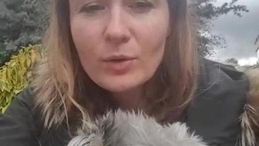 Testimonio de Aleksandra Andrzejewska sobre el trabajo con Cristina