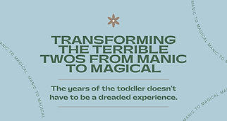 Manic to Magical
