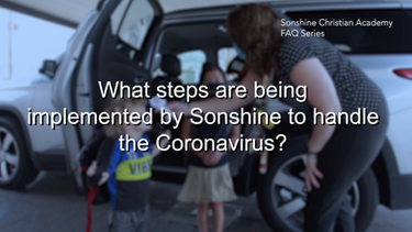 What Steps Are Being Implemented By Sonshine To Handle The Coronavirus