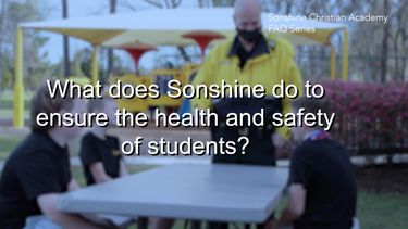 What Does Sonshine Do To Ensure The Health and Safety of its Students and Staff?