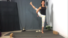 90 Minute Yoga Flow Class with a challenging balance pose