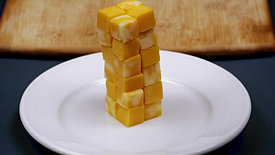 After School Snacks - Cheese Tower