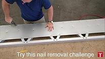 Nail removal - a tough job