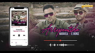 Maravilla & El Bronce - Arrepentida (Cover Audio)