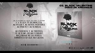 DTOBA   BLACK VALENTINE ft Tania Matías  Prod Hanto DISCO DE ARRANQUE