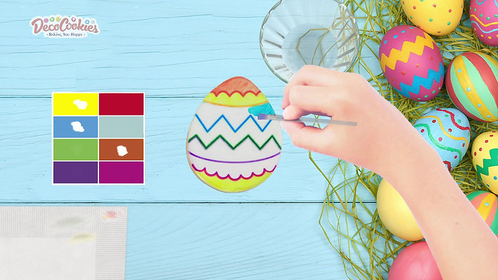 Easter Coloring Cookie Kits