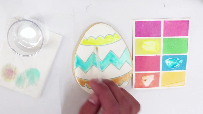 Easter Egg, Coloring Cookies