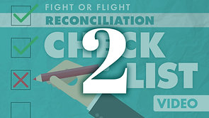 Reconciliation Checklist Part 2