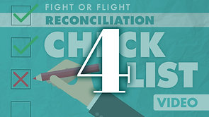 Reconciliation Checklist Part 4