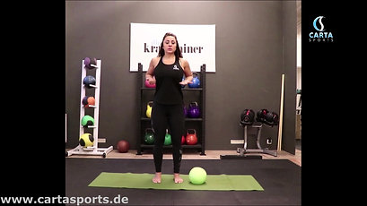 Teaser Pilates mit Ball