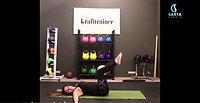 Präventionskurs Pilates mit Ball 6. Einheit 61. Min.