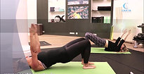 Pilates workout Teaser