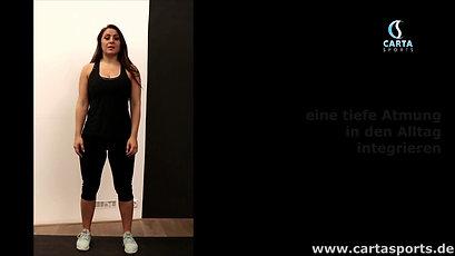 die Pilates Atmung mit Variationen ca. 15 Min
