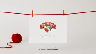 Hannaford Supermarket Voiceover- Beyond the Basket