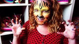 Tiger Face Paint Lesson