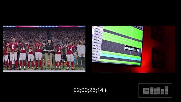 Atlanta Falcons Promo James Andrews Arrangement