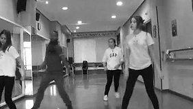 Freestyle choreographers (Yami Ramírez, Lennier Ramírez)