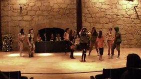Melodys  choreographers (Yami Ramírez, Lennier Ramírez)