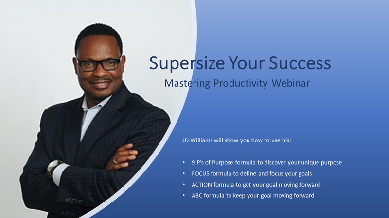 The Supersize Your Success: Mastering Productivity Webinar
