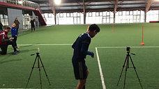 Sprinttest med Fodbold-Lab