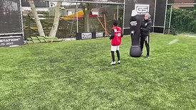 Offensive aktioner med GoalStation