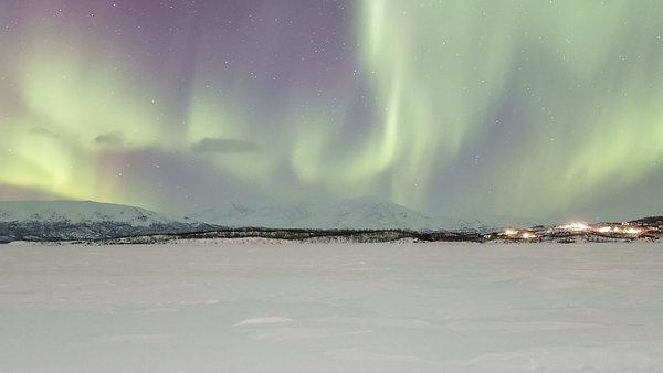 Timelapse Aurora Abisko - Švédsko