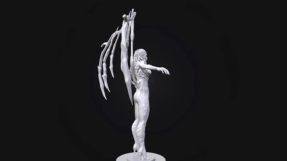 Kerrigan 3D Model