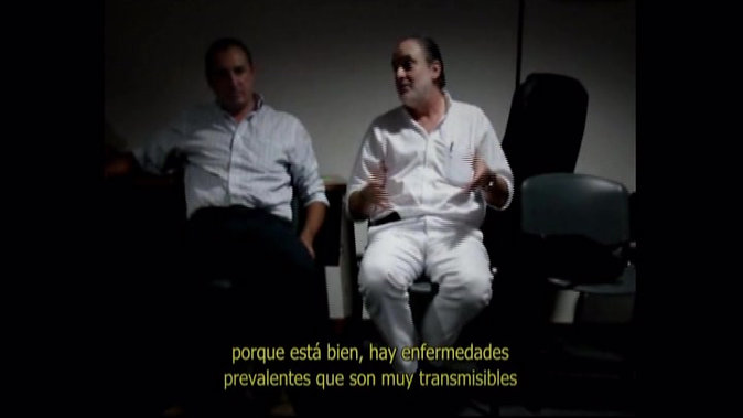 """""""Mesa de diálogo con médicos"""", participación del Dr. Arturo Altuna"""