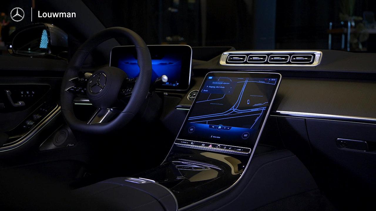 De nieuwe Mercedes-Benz S-klasse