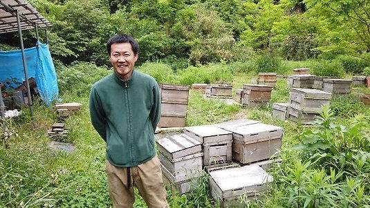 中林養蜂の純粋ハチミツ