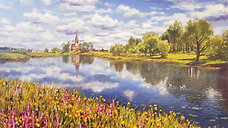 Пейзаж с облаками 2 часть