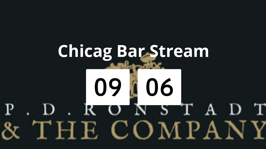 P.D. Ronstadt & The Co. - Chicago Bar Stream (4/6/20)