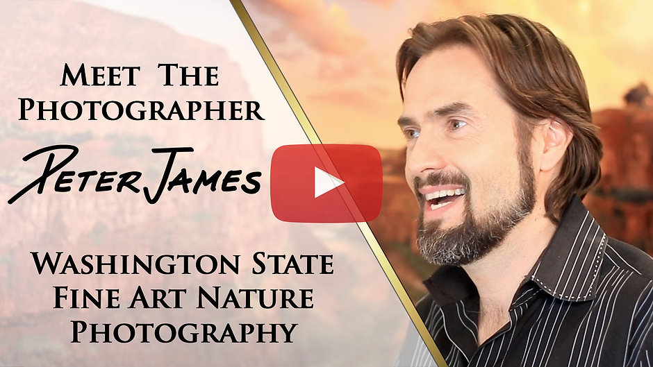 About Nature Photographer Peter James