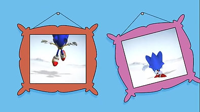 Sonic Generations - The Simpsons Sponsorship Ident
