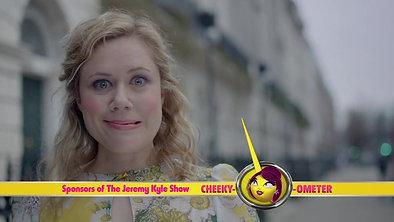 Cheeky Bingo -  Cheeky-ometer Sponsorship Bumpers