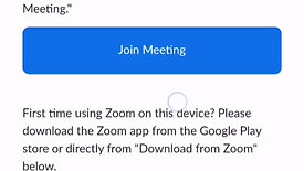 Zoom on Android