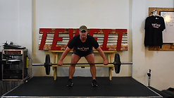 Wide Barbell Row