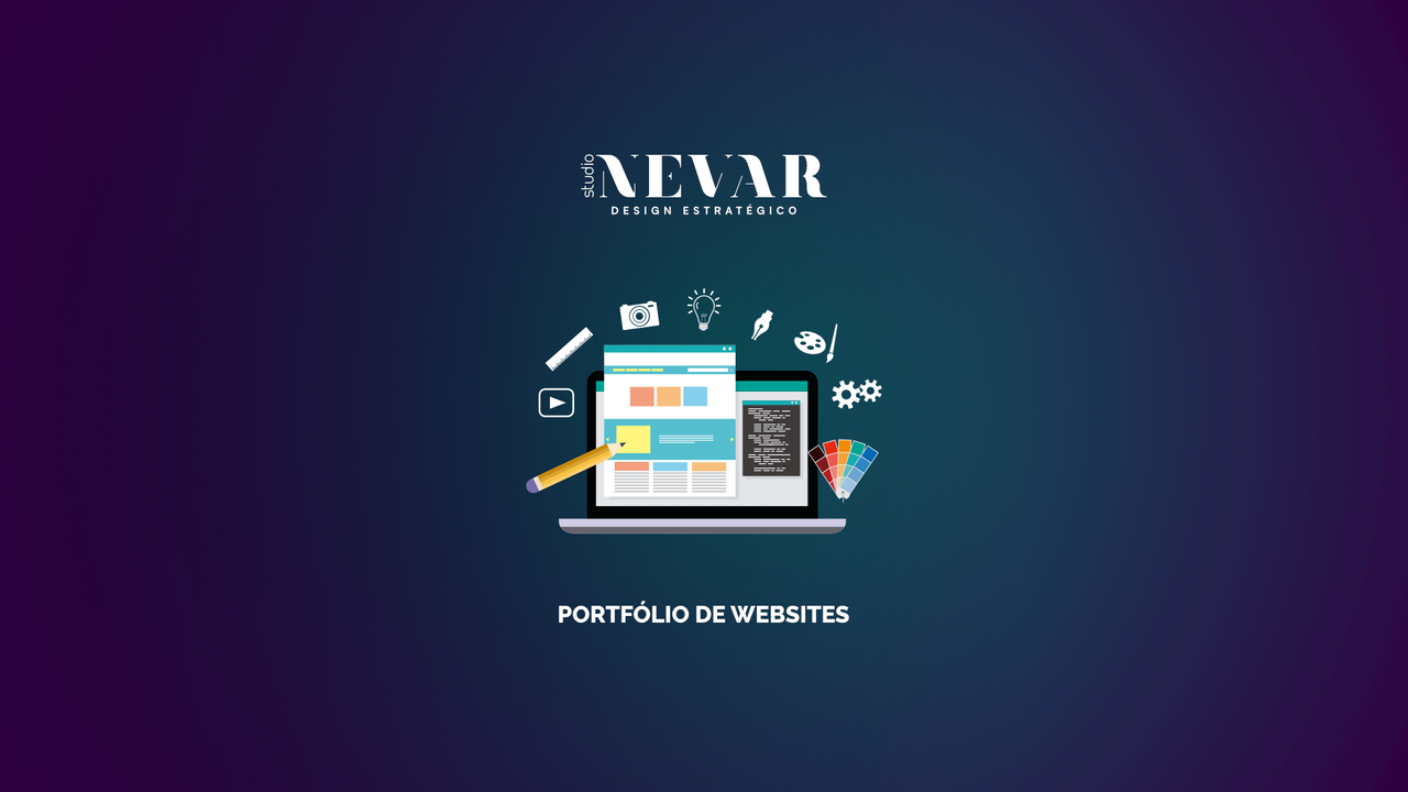 Studio Nevar - Portfólio de Websites - HD