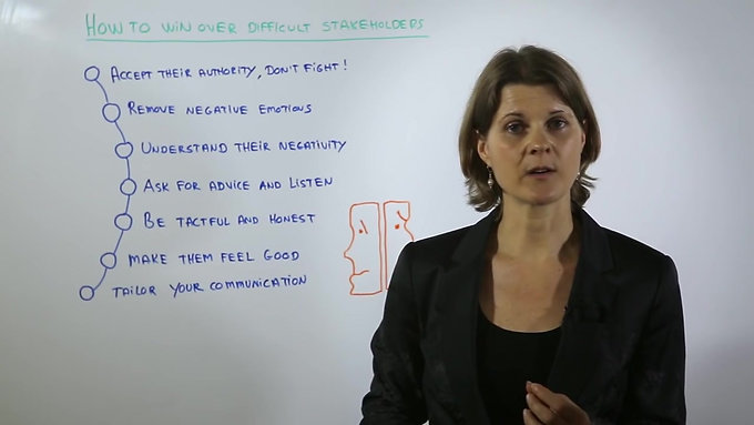 3-Dealing with Difficult Stakeholders - Leaderhip   Management Training - YouTube