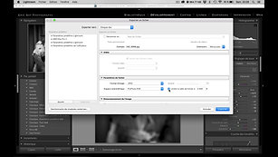 compresser vos photos avec lightroom