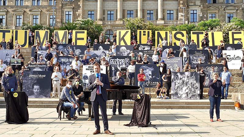 Stumme Künstler-Livestream 27.05.2020