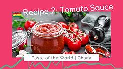 Ghanaian Tomato Sauce