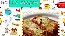 Roll up lasagna aka Cannelloni Cheats EdiBee recipe