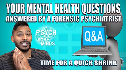 Your Mental Health Questions Answered | Dr Das