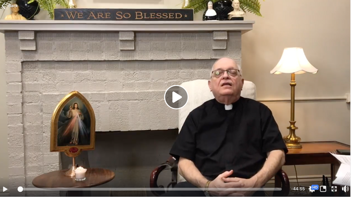 Fireside Chat - Divine Mercy Sunday