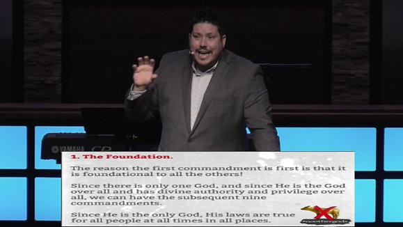 The Ten Commandments: No Other Gods      Exodus 20:3 Pastor Aaron Matthews