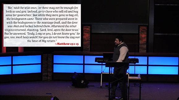 Behold Your King Part 2 | March 21, 2021 | Pastor Aaron Matthews