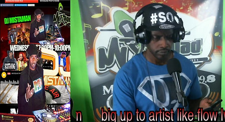 DJ MISTAMAN LIVE ON MIXSQUAD RADIO
