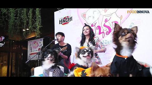 งานอีเว้นท์โครงการปันรักให้น้องหมา-น้องแมวฮัทจิ เนะโกะ