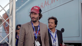 Michelin Car Connections - Keanu Reeves at Le Mans